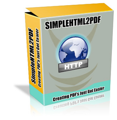 Product picture SIMPLE HTML 2 PDF