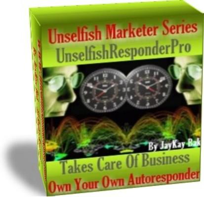 Product picture AutoResponder: UnselfishResponderPro