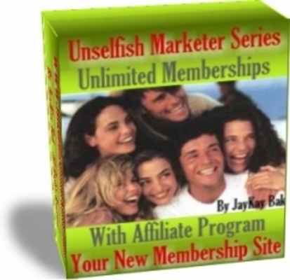 Product picture Your New Membership Site