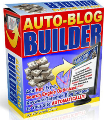 Product picture Auto Blog Builder